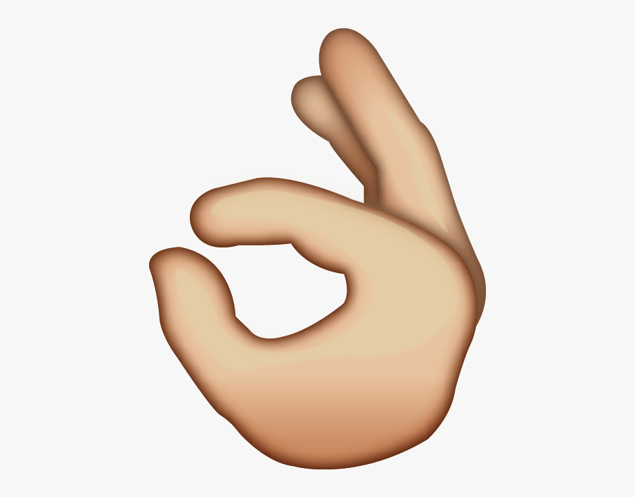 Ok hand emoji clipart vector free Ok Emoji Clipart - Ok Hand Emoji Png , Transparent Cartoon, Free ... vector free