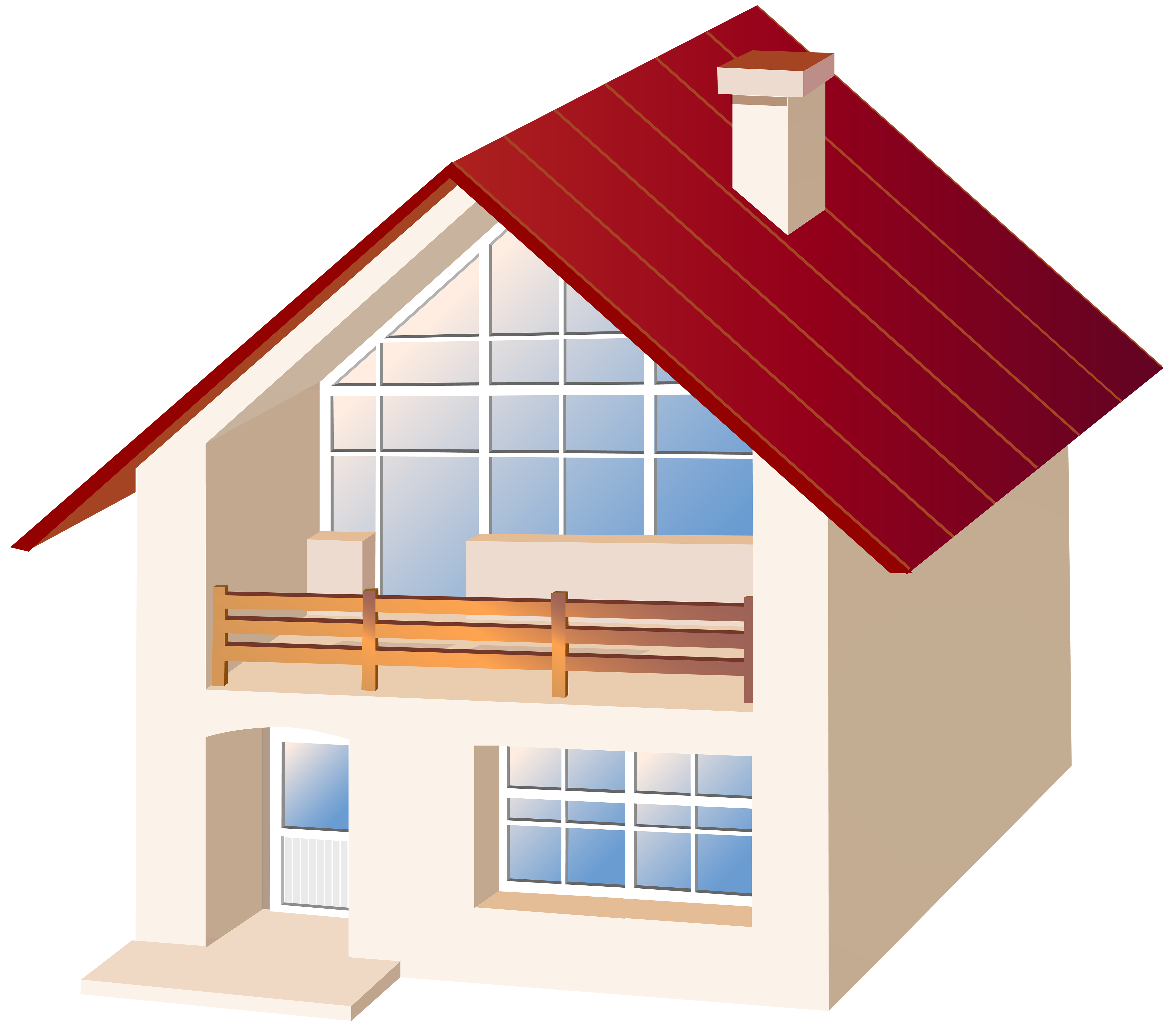 Parts of the house clipart picture royalty free download House PNG Clip Art - Best WEB Clipart picture royalty free download