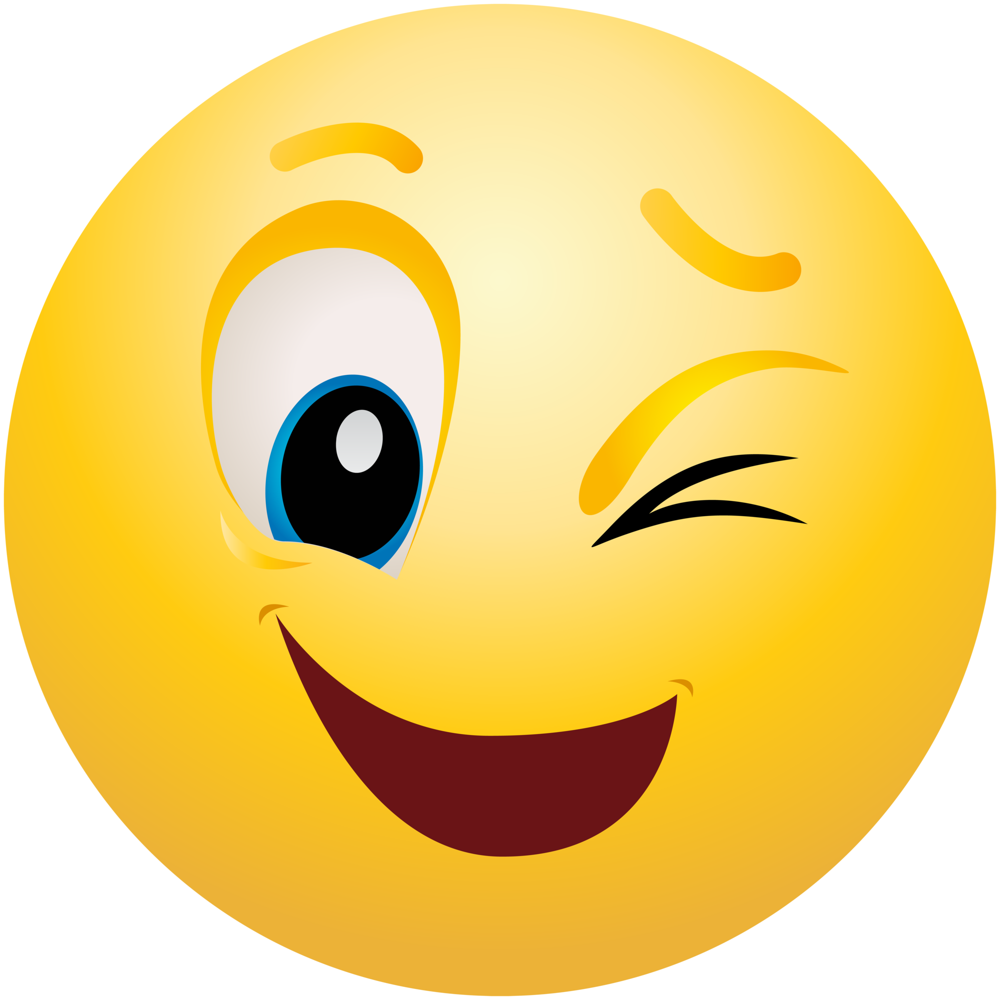 Emoji images clipart clip library library Winking Emoticon Emoji Clipart Info clip library library