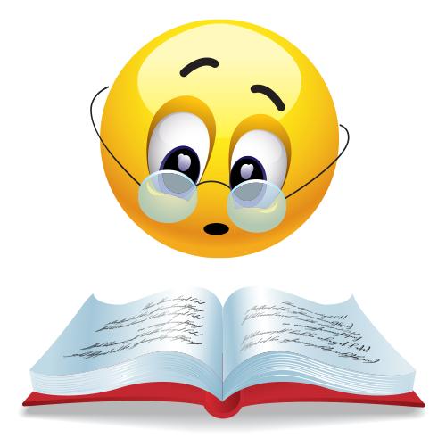 Emoji important clipart graphic freeuse stock Bookish | Smileys | Smiley, Emoji faces, Emoticon faces graphic freeuse stock