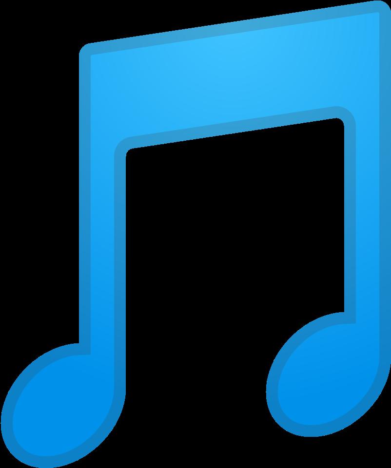 Emoji music clipart jpg stock Musical Note Icon Noto - Music Note Emoji Clipart - Full Size ... jpg stock