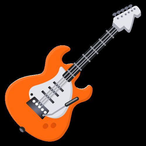 Emoji music clipart svg library download Emoji Electric guitar Musical Instruments - Emoji png download - 500 ... svg library download