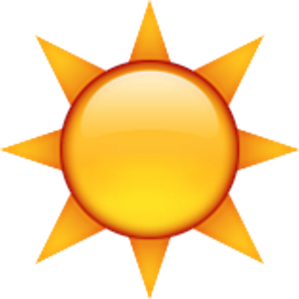 Emoji sun clipart clip transparent library sun yellow emoji - Sticker by ☪ VC ☪ clip transparent library