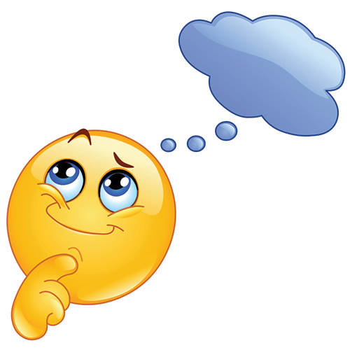 Emoji thinking clipart graphic download Thinking Smiley | Smileys | Thinking emoticon, Smiley, Emoticon faces graphic download