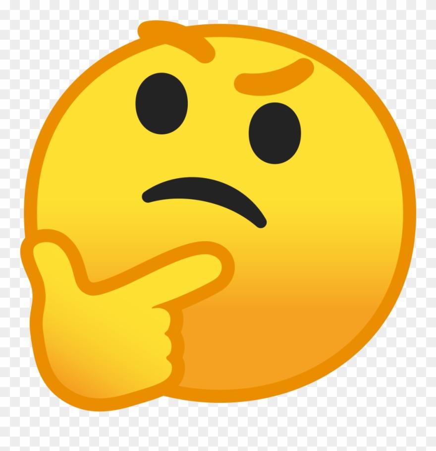 Thinking emoji clipart no background jpg library Thinking Tanabe - Thinking Emoji Icon Png Clipart (#594526) - PinClipart jpg library