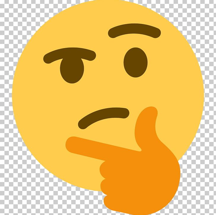 Emoji thinking clipart jpg library Discord Social Media Emoji Think Thank Thought PNG, Clipart, Android ... jpg library