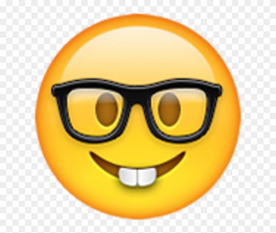 Emoji whatsapp clipart clip art royalty free stock Nerd Email Whatsapp Iphone Emoji Hq Image Free Png Clipart (#2866226 ... clip art royalty free stock
