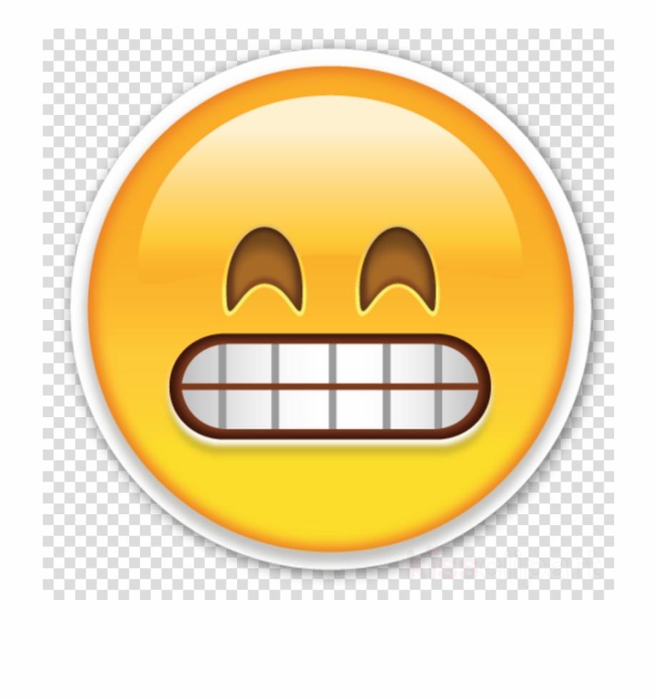 Clipart emoticon picture freeuse download Emoji Whatsapp Png Clipart Emoji Emoticon - Grimacing Face Emoji Png ... picture freeuse download