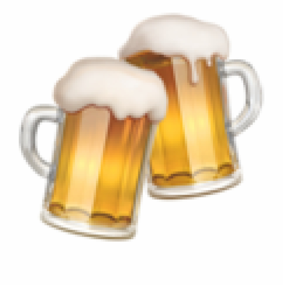 Emoji with beer clipart picture black and white library Beer, Emoji, Beer Glasses, Beer Glass, Tableware Png - Beer Emoji ... picture black and white library