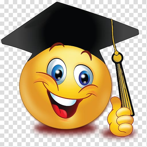 Smiley face graduation clipart png library library Graduation ceremony Emoticon Smiley Emoji Graduate University ... png library library