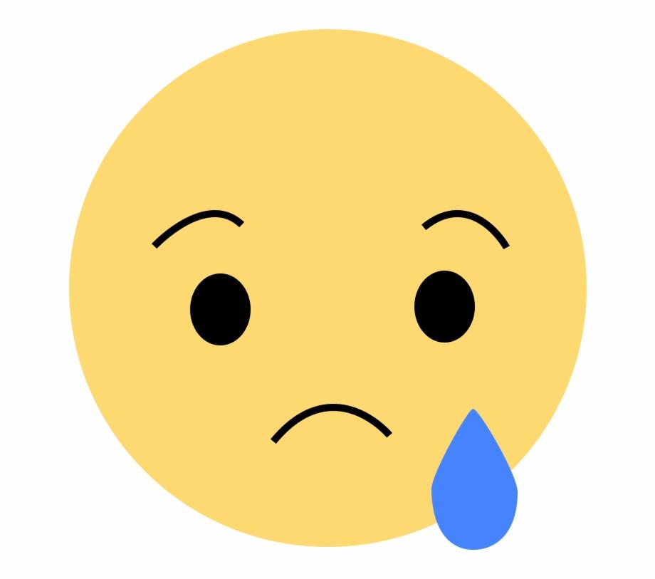 Emoticones facebook clipart png freeuse Facebook Sad Reaction Png, Transparent Png Download For Free #56201 ... png freeuse