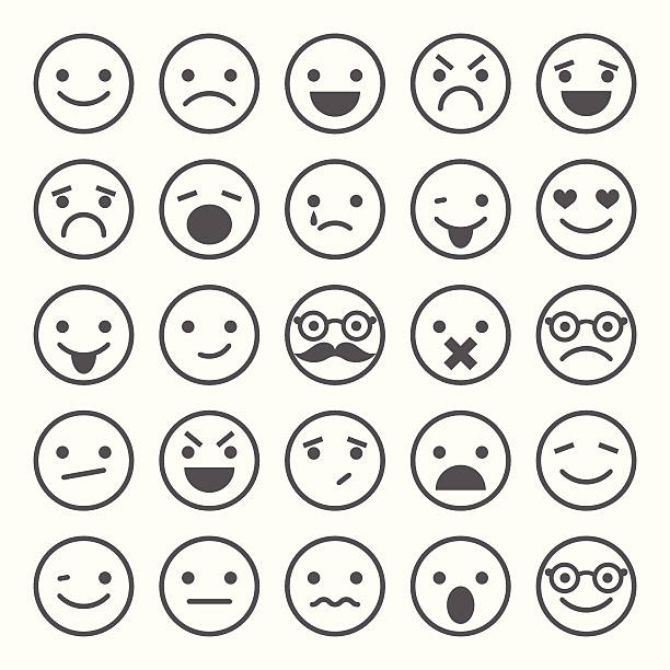 Emotions clipart black and white vector freeuse Emotions clipart black and white 2 » Clipart Station vector freeuse