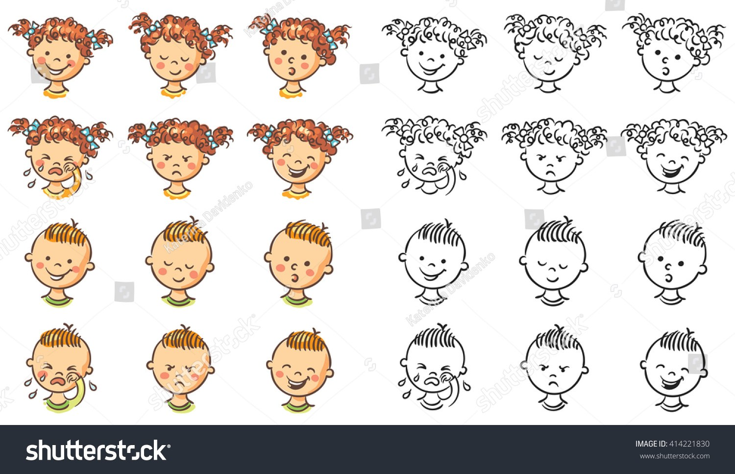 Emotions clipart black and white banner freeuse download Emotion clipart black and white 3 » Clipart Portal banner freeuse download