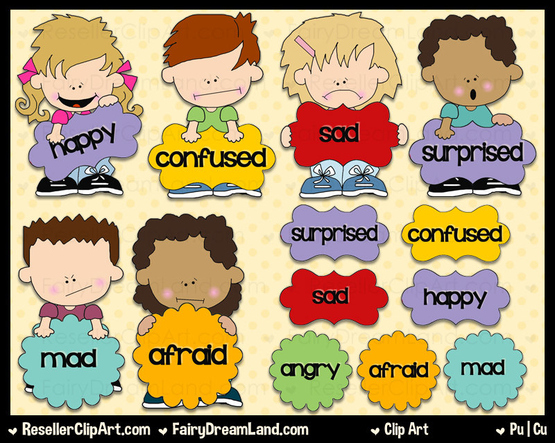 Emotions images clipart