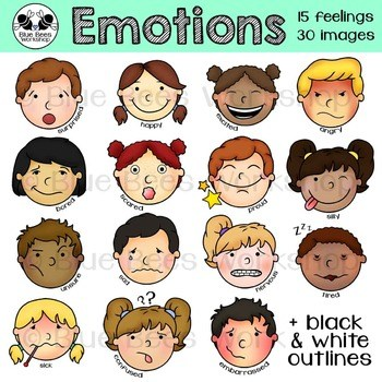 Emotions images clipart clipart black and white download Emotions clipart 8 » Clipart Portal clipart black and white download