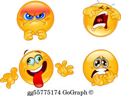 Emotions images clipart clipart free stock Emotions Clip Art - Royalty Free - GoGraph clipart free stock
