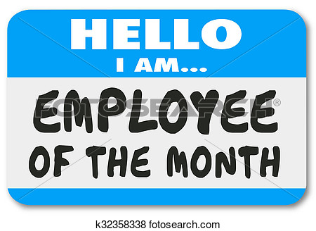 Employee of the month clip art - ClipartFest image transparent stock