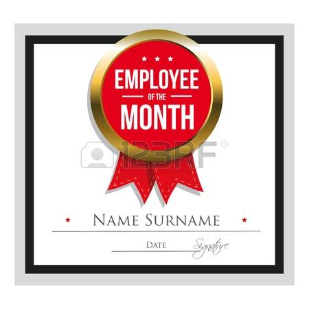 593 Employee Of The Month Cliparts, Stock Vector And Royalty Free ... clip art library library