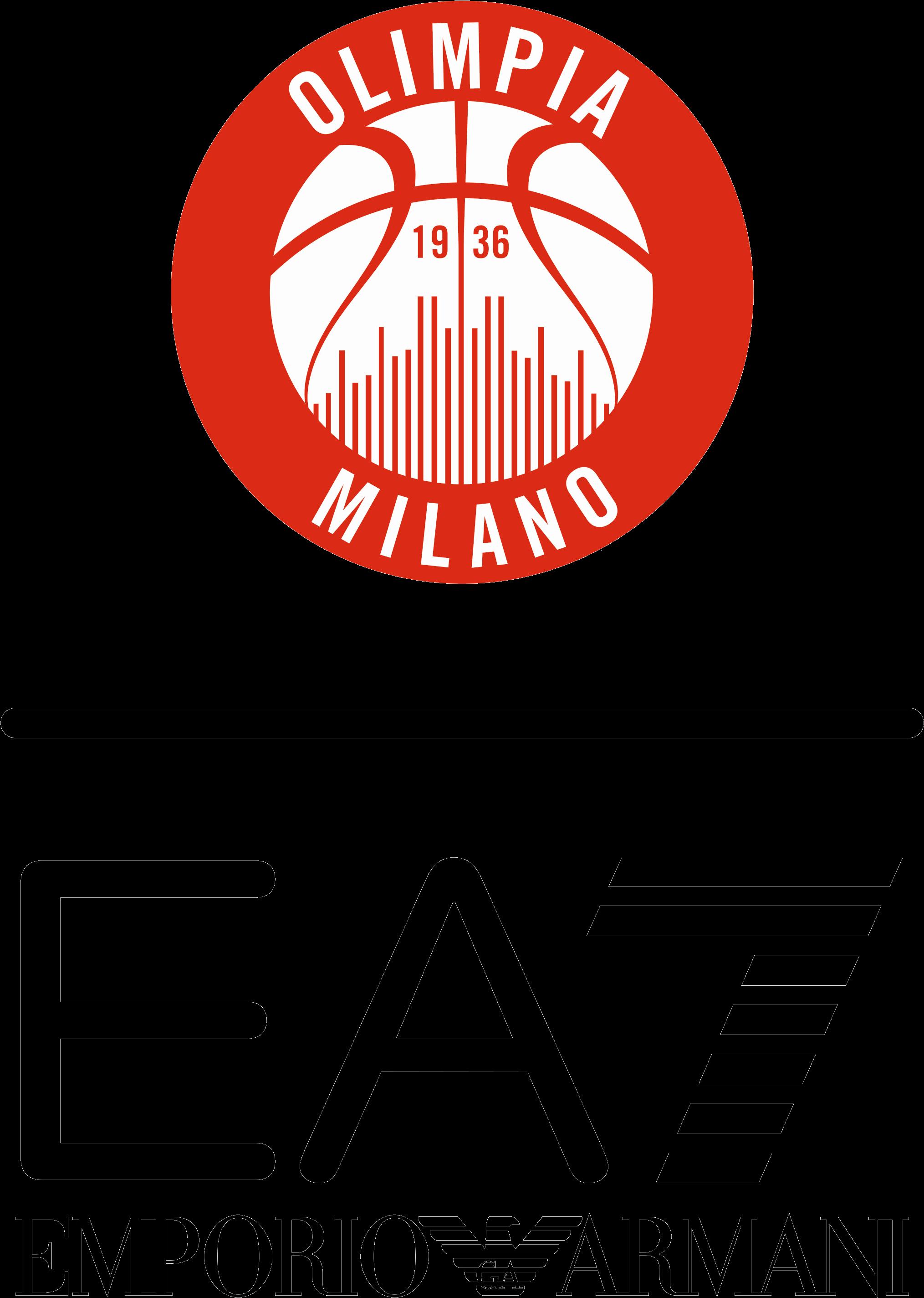 Emporio armani logo clipart banner freeuse HD Ea7 Emporio Armani Milano - Olimpia Milano , Free Unlimited ... banner freeuse