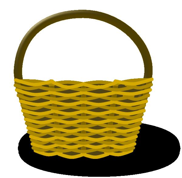 Panda free images emptyapplebasketclipart. Empty apple basket clipart