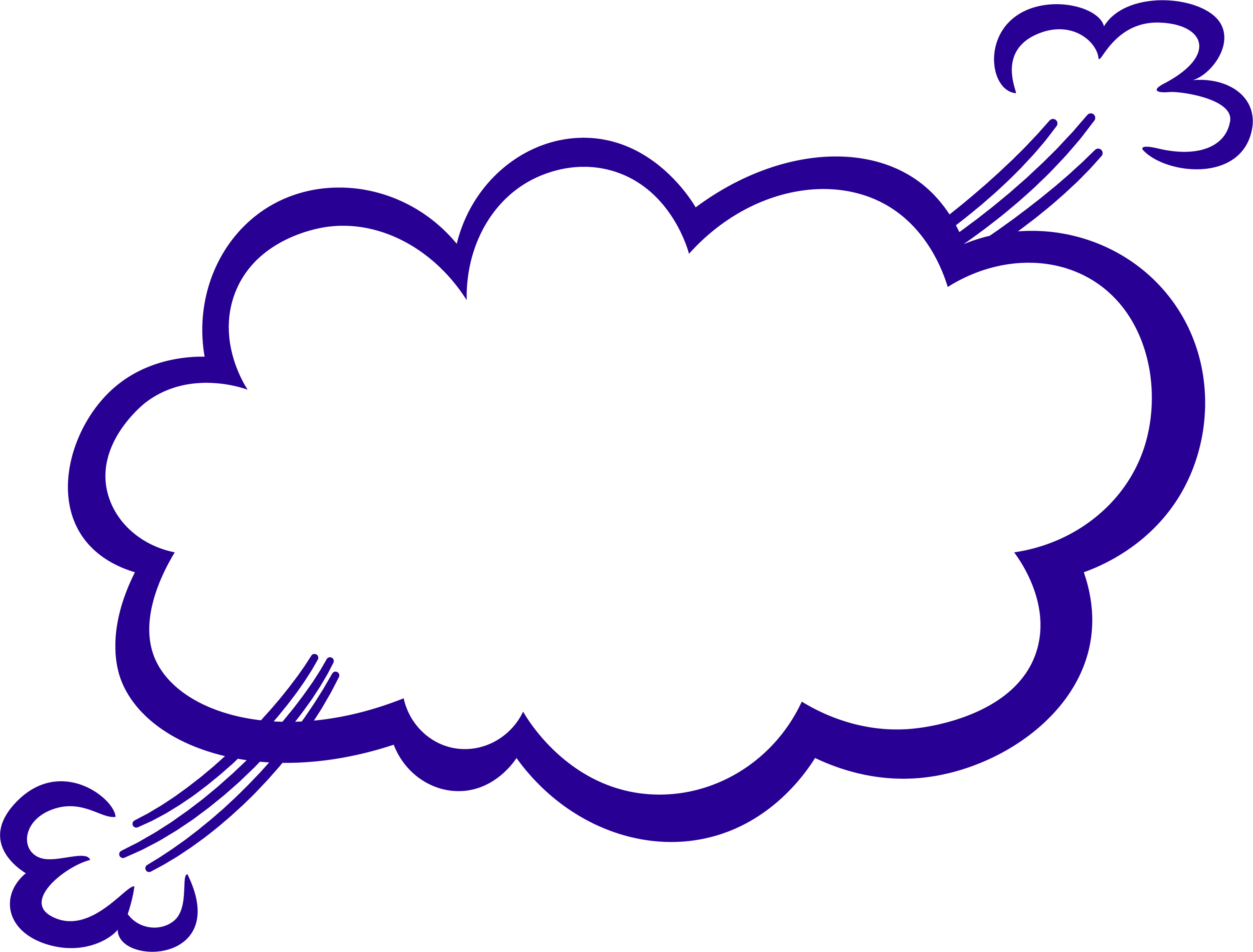 Empty book clipart picture freeuse library Indıgo Empty Comic Bubbles Rain Clipart Png Image Download ... picture freeuse library