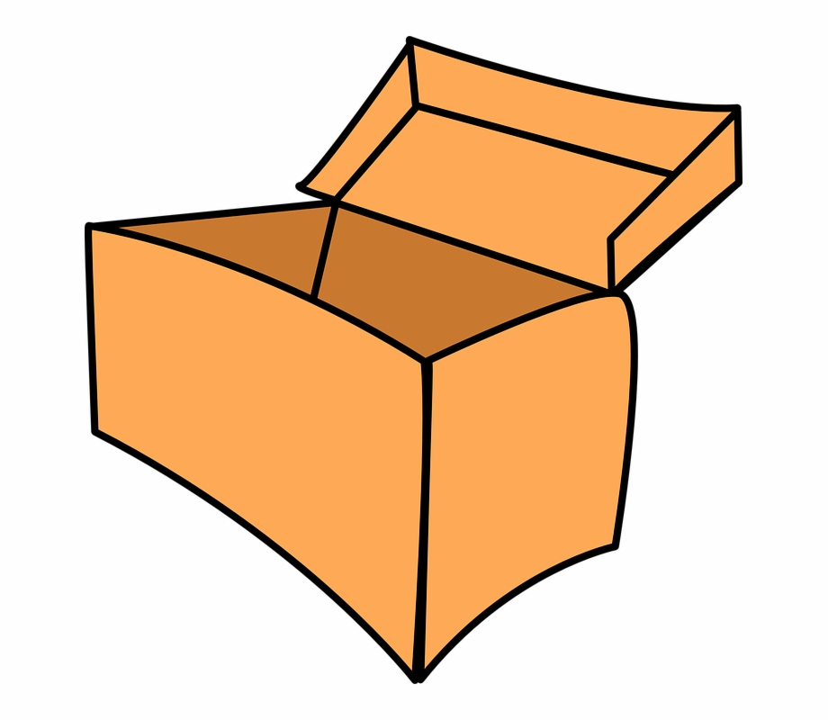 Empty box clipart picture black and white Box Paper Empty Open Post - Toy Box Clip Art Free PNG Images ... picture black and white