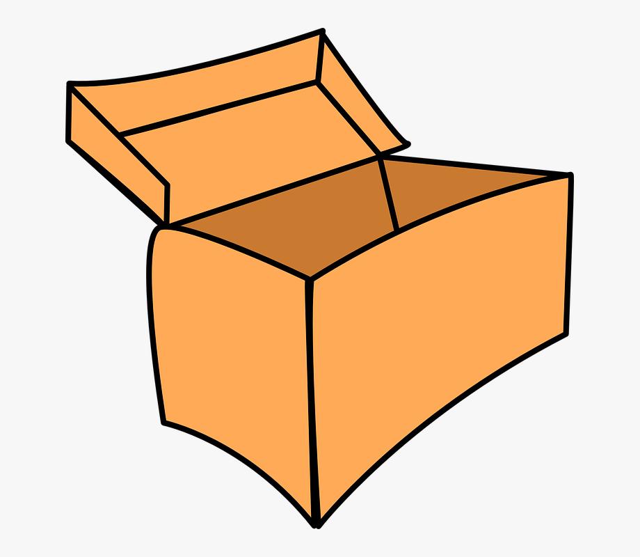 Empty box clipart clip freeuse Clipart Of Box, Empty Box Open And Brown Paper #446001 - Free ... clip freeuse