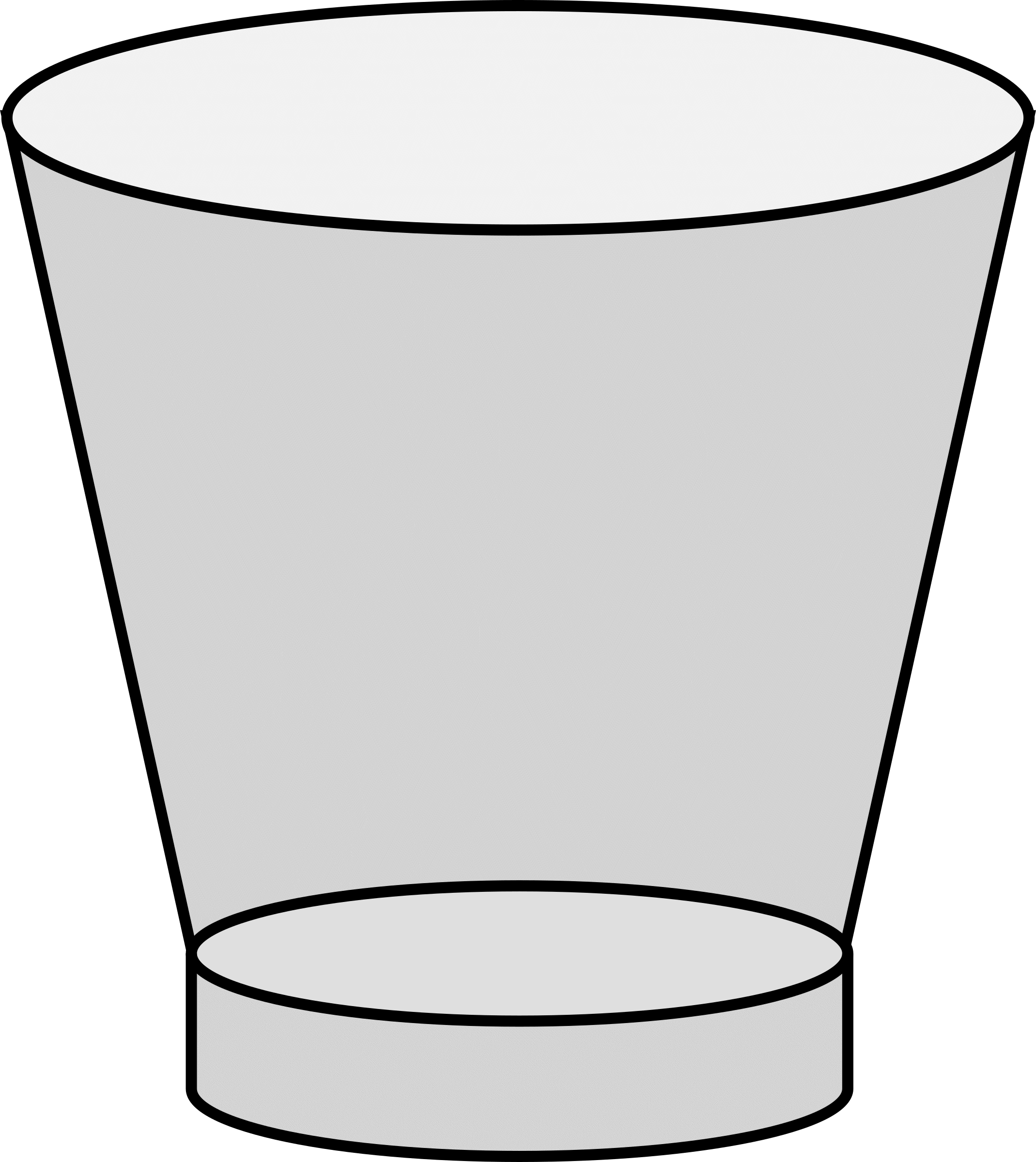 Empty cup clipart vector stock Empty Glass Cliparts - Cliparts Zone vector stock