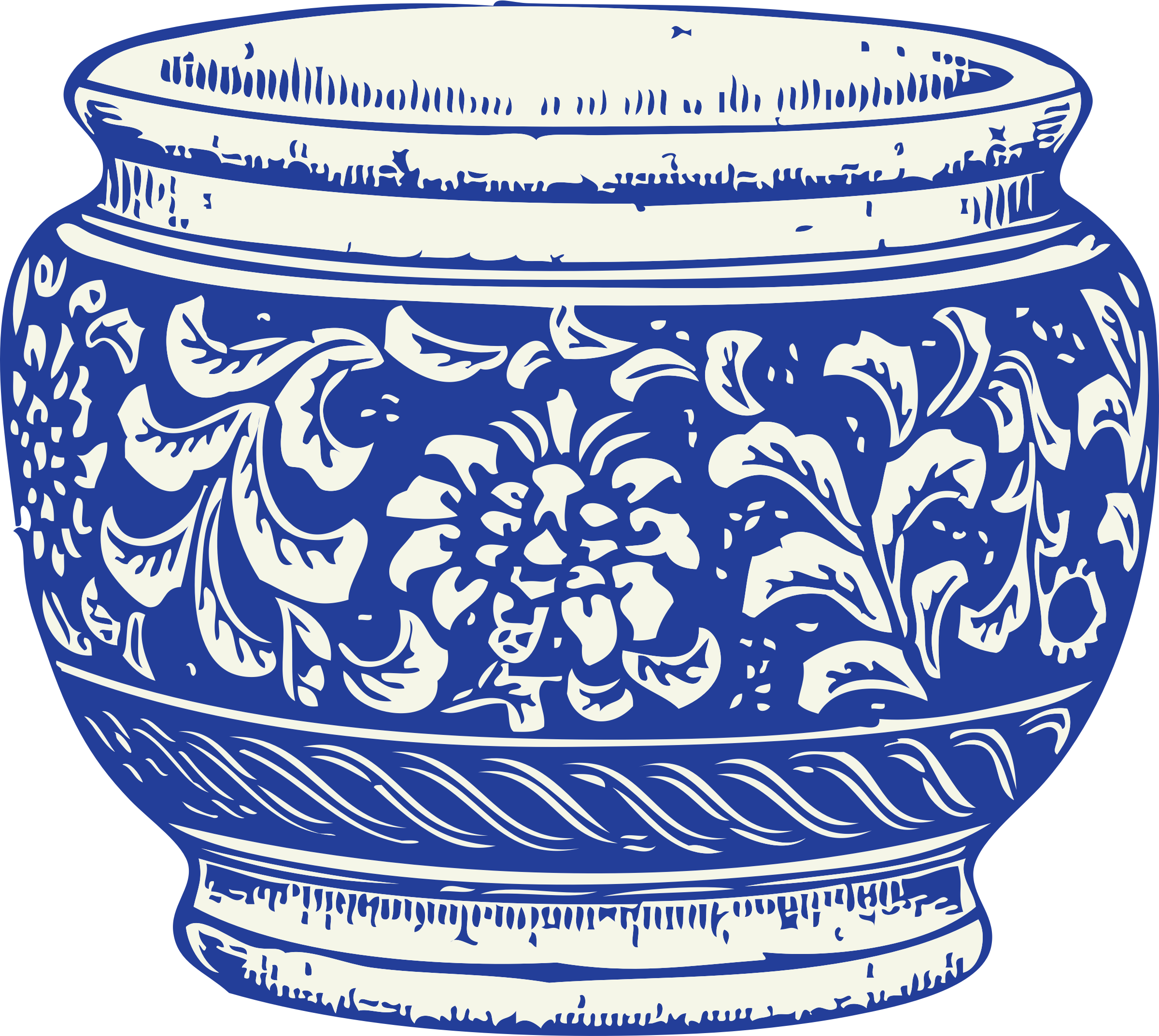 Empty flower pot clipart png library download Clipart - flower pot png library download
