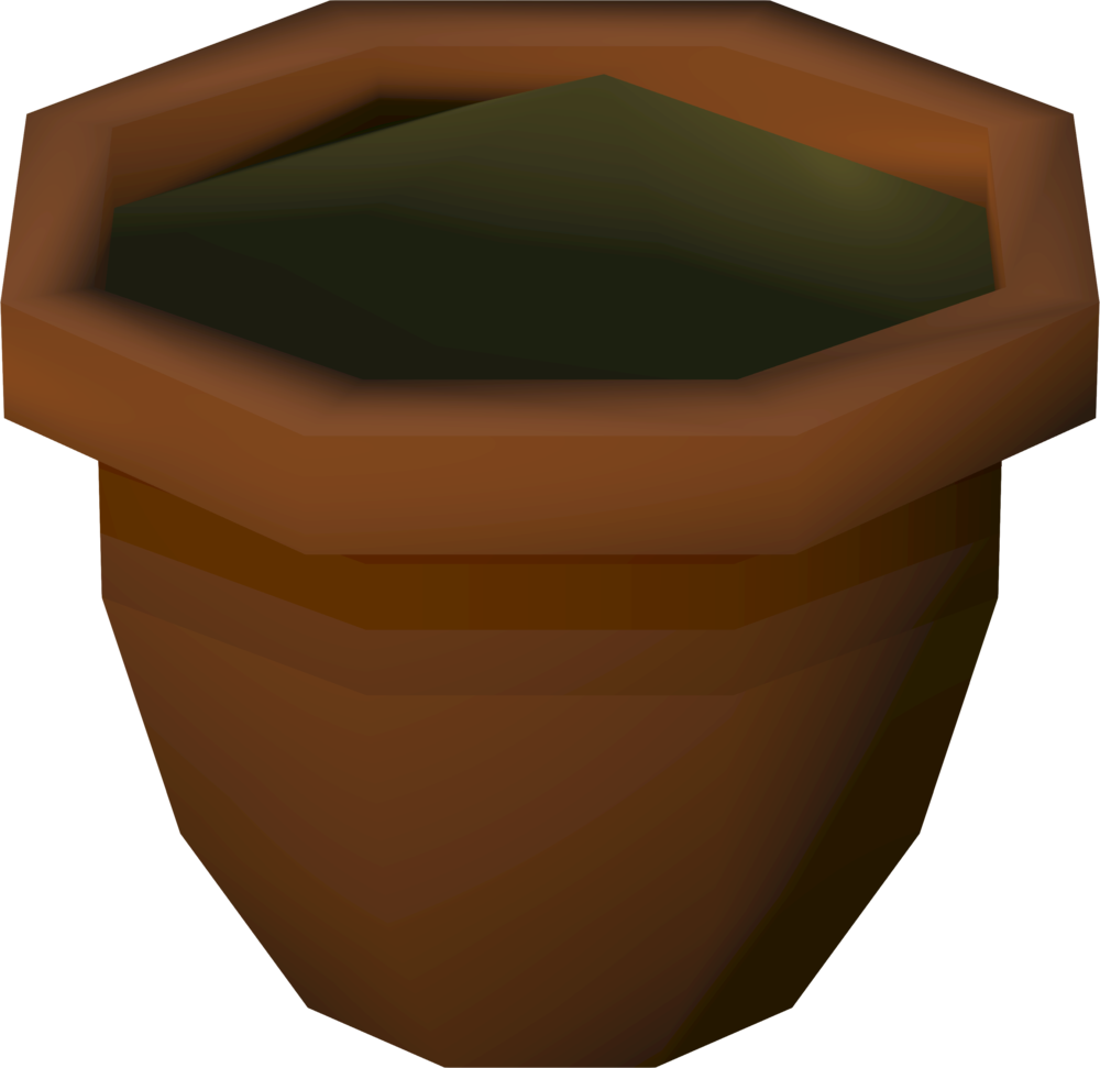 Empty flower pot clipart vector download Plant pot | RuneScape Wiki | FANDOM powered by Wikia vector download