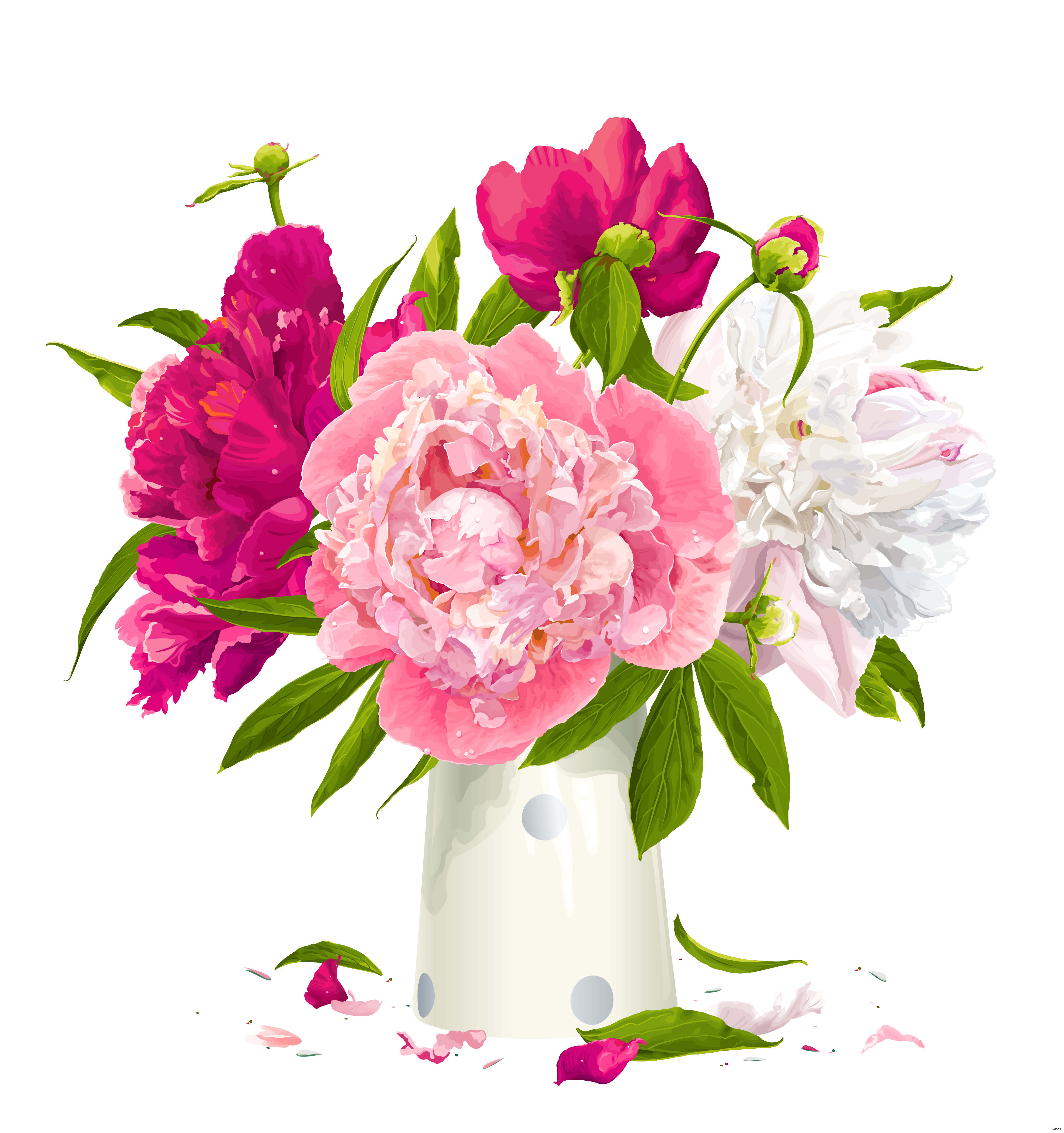 Empty flower vase clipart clip free library Flower Vases With Flowers Clipart Group (58+) clip free library