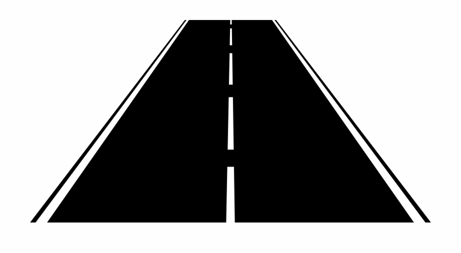 Empty highway clipart black and white clip black and white stock Road - Highway Clipart - horizontal road png, Free PNG Images ... clip black and white stock