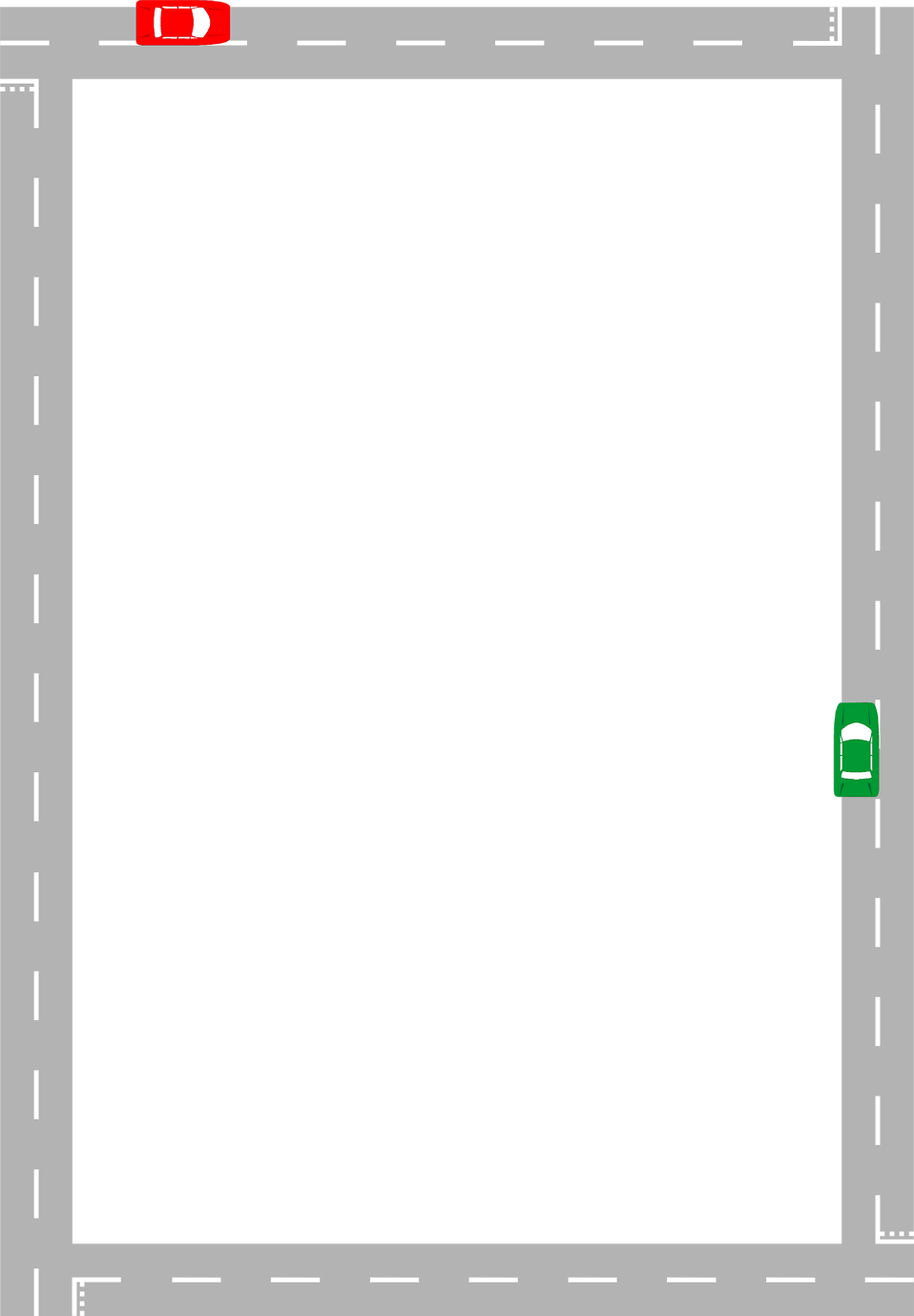 Empty highway clipart black and white png transparent download Road   Free Stock Photo   Illustration of a blank frame border of a ... png transparent download