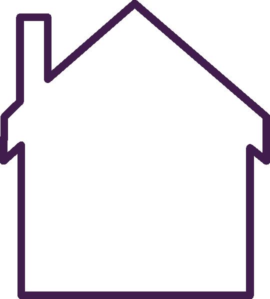 Empty house clipart banner download Purple House Empty Clip Art at Clker.com - vector clip art online ... banner download