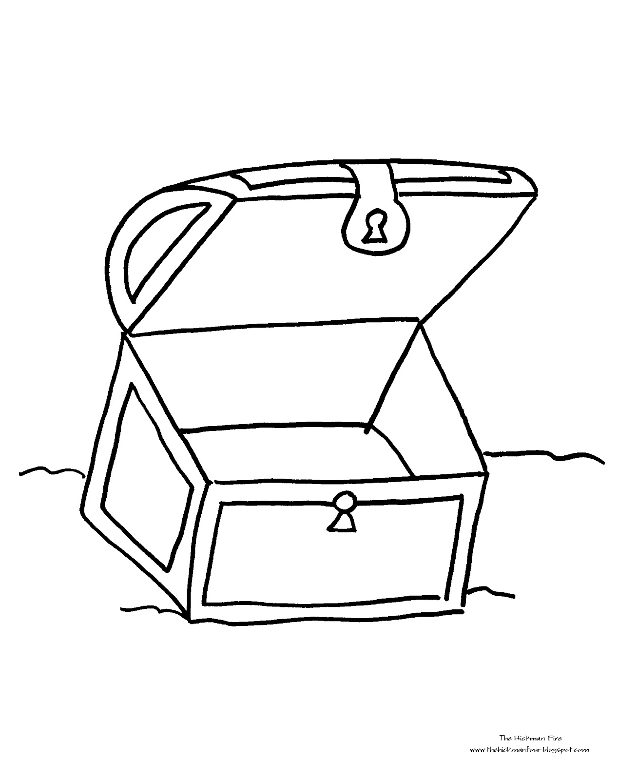 Empty open treasure chest clipart black and white svg royalty free stock Free Black And White Outline Of A Treasure Chest, Download Free Clip ... svg royalty free stock