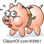 Empty Piggy Bank Clipart - Clipart Kid free stock