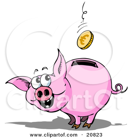 Royalty-Free (RF) Piggy Bank Clipart, Illustrations, Vector ... clip royalty free library