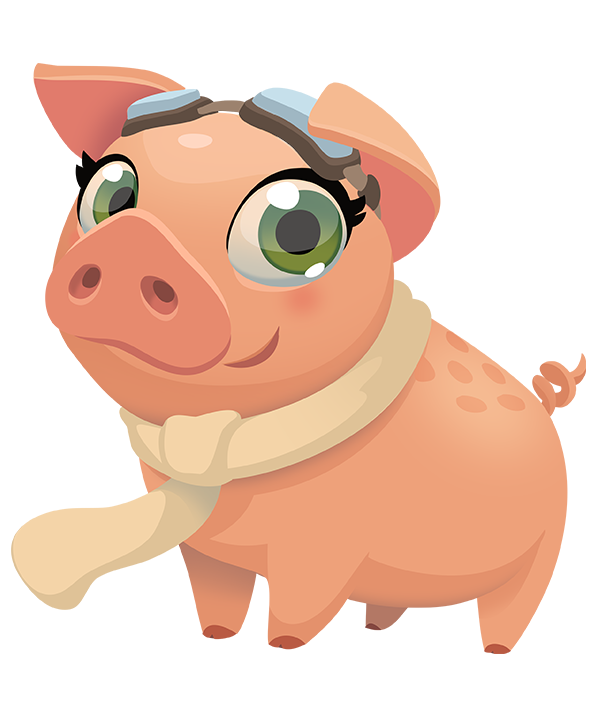 Empty piggy bank clipart clip library Piggy Bank in Farm Heroes Saga! - Blog clip library