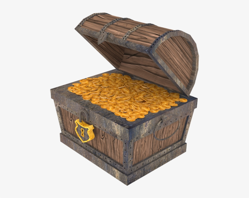 Empty treasure chest clipart png download Svg Library Stock Empty Treasure Chest Clipart - Treasure - Free ... png download