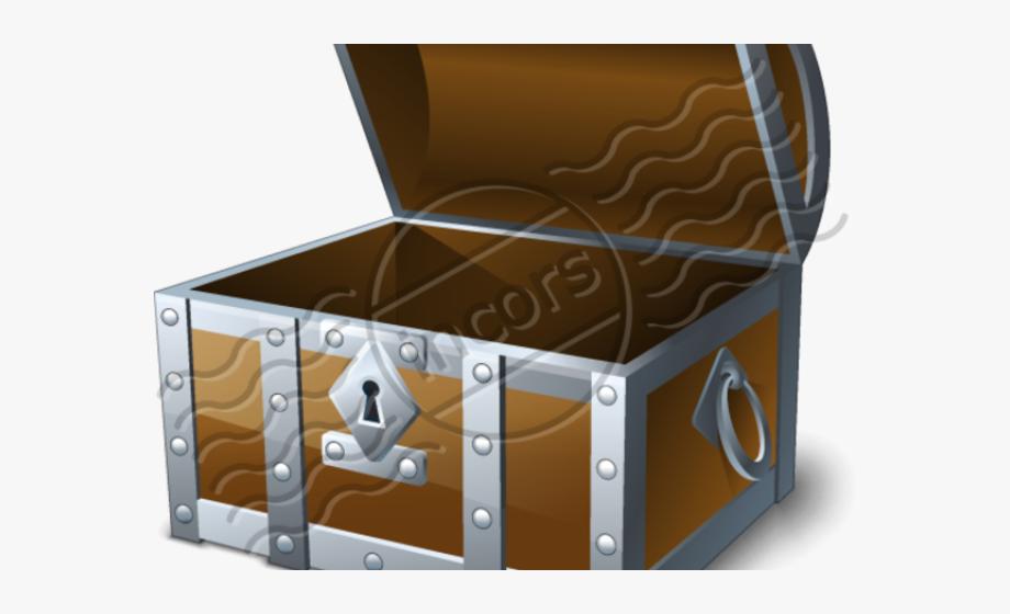 Empty treasure chest clipart vector transparent library Trunk Clipart Empty Treasure Chest - Icon Png Chest Icon #284409 ... vector transparent library
