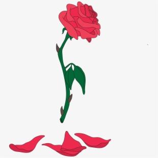 Enchanted rose pink beauty and the beast clipart vector free library Free Beauty And The Beast Clipart Cliparts, Silhouettes, Cartoons ... vector free library