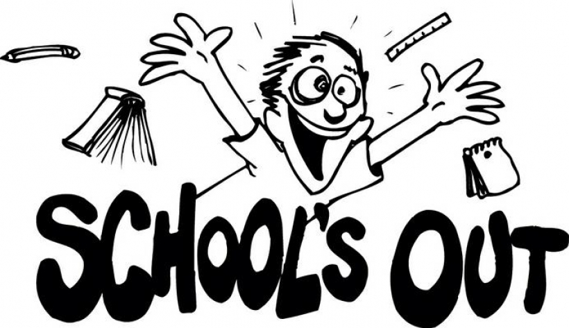 End of school black and white clipart cute image free download Summer Break Clipart Black And White - Free Clipart image free download