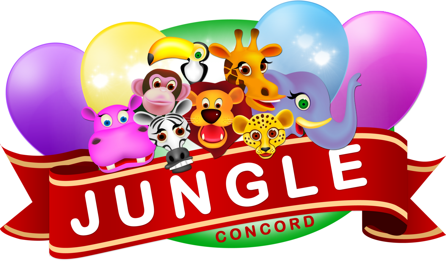End of school party clipart royalty free library Jungle Concord The Jungle concord offers the best indoor play ... royalty free library