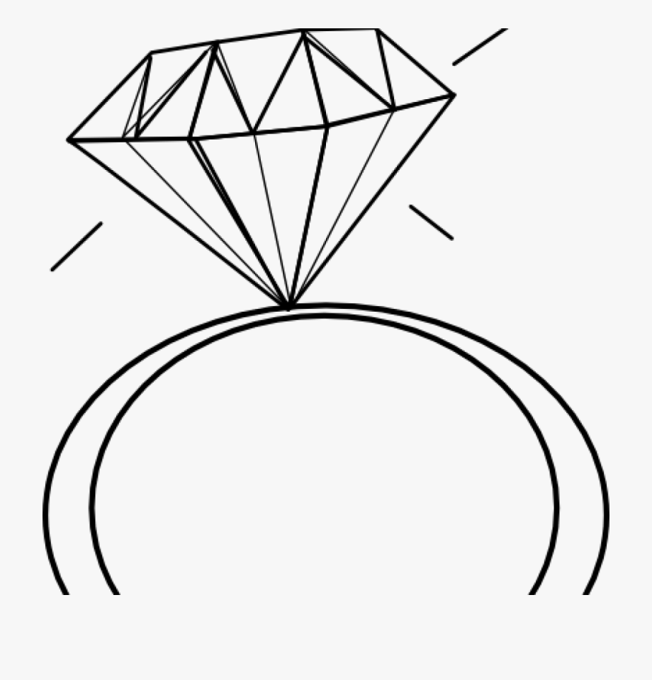 Engagement ring clipart with tranlucent background clip art Ring Clipart Enagement - Transparent Background Diamond Ring Clip ... clip art