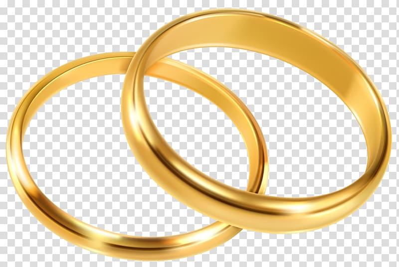 Engagement ring png clipart svg royalty free download Pair of gold-colored rings, Wedding ring Engagement ring , Wedding ... svg royalty free download