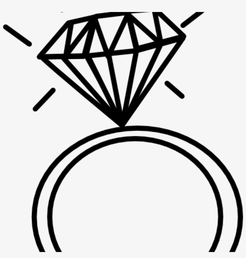 Solitaire ring clipart vector royalty free Diamond Ring Clipart Food Clipart House Clipart Online - Wedding ... vector royalty free