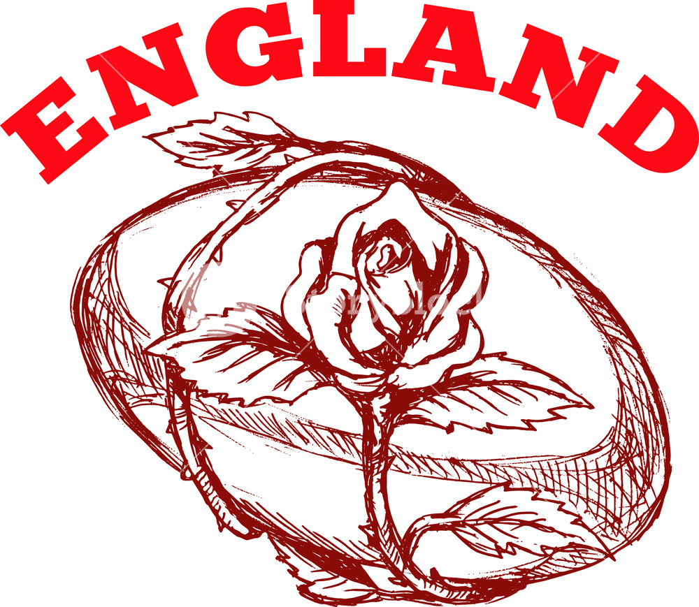 England rugby logo clipart jpg transparent England Rugby Ball With English Rose Flower Royalty-Free Stock Image ... jpg transparent