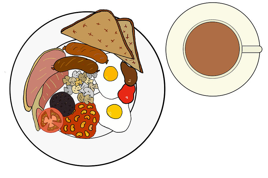 English breakfast clipart graphic royalty free download Full English Breakfast graphic royalty free download