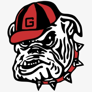 English bulldog cliparts free cricet jpg black and white library Georgia Bulldog Gameday Central - Pug , Transparent Cartoon, Free ... jpg black and white library