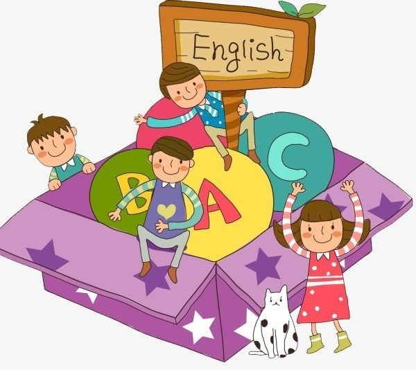 English corner clipart clip freeuse download Learning English, Cartoon, Hand Painted, Child Png Image And Clipart ... clip freeuse download